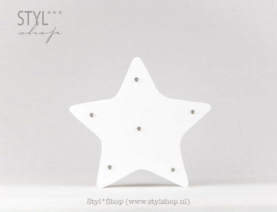 Marquee letter symbool ster / star