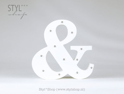 Marquee letter symbool & / Ampersand