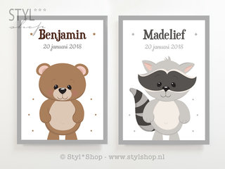 Poster babykamer / kinderkamer
