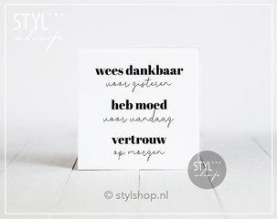Nederlandse tegeltjes