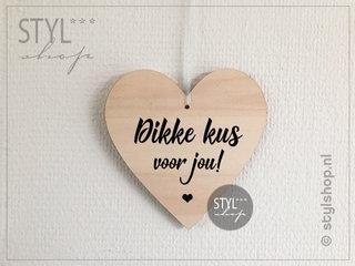 Nederlandse houten hartjes