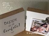 Fotolijst Beppe is de leafste Tweeluik_