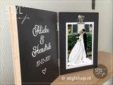 Fotolijst namen naam uniek kado huwelijk naam kado