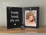 Fotolijst kraamkado baby echo kind kado kraamcadeau geboorte