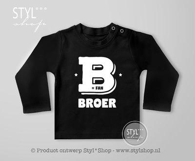 Shirt Fries B is fan broer