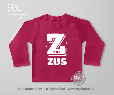 Shirt Z is van Zus
