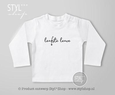 MO - Shirt Frysk Leafste leave wit