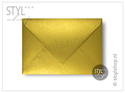 Gouden envelop A6