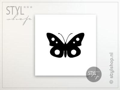 Tegeltje Vlinder