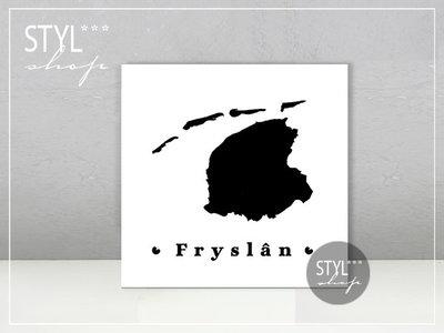 Fries tegeltje Fryslan....