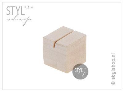 Kaarthouder hout S