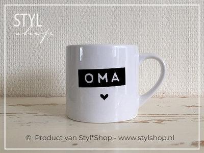 Koffiekopje Oma