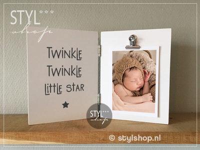 Fotolijst Twinkle twinkle little star tweeluik