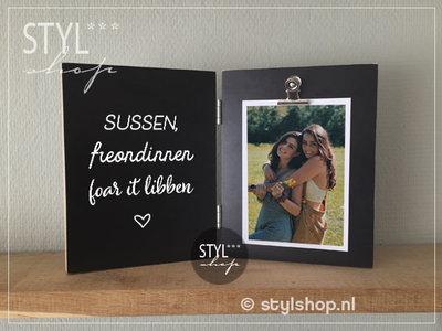 Fotolijst Sussen freondinnen foar it libben tweeluik