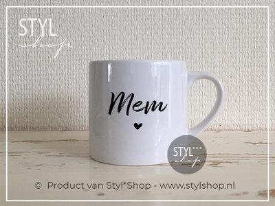 Koffiekopje Mem