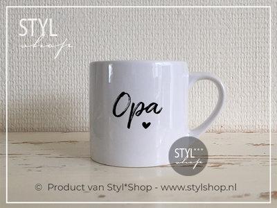 Koffiekopje Opa