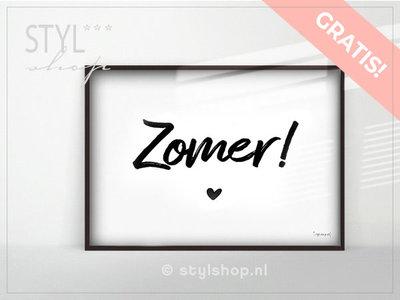 Gratis poster Zomer