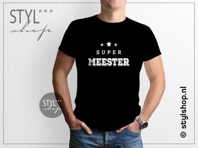 T Shirt Super Meester