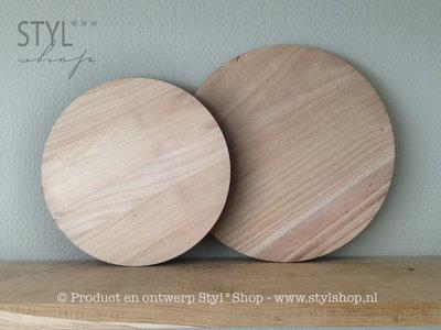 Muurcirkel hout