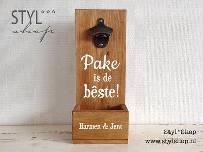 Bierbakje - Pake is de bêste
