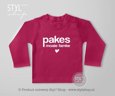 Shirt Frysk - Pakes moaie famke