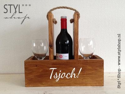 Wijnhouder - wijndrager - Tsjoch