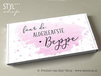 Chocoladereep Foar de alderleafste beppe - Frysk