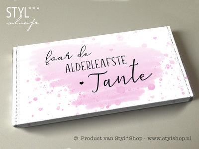 Chocoladereep Foar de alderleafste tante - Frysk