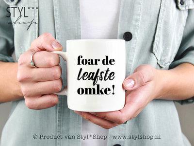 OUTLET - Mok -Frysk- Foar de leafste omke