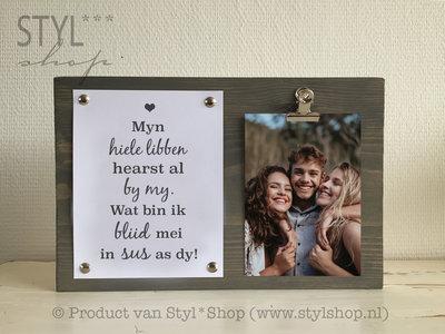 Fotolijst Myn hiele libben sus Frysk