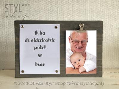 Fotolijst Alderleafste pake Frysk