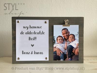 Fotolijst Alderleafste... Frysk