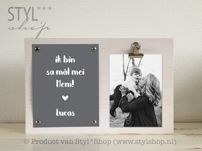 Fotolijst Mal mei mem Frysk