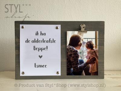 Fotolijst Alderleafste beppe Frysk