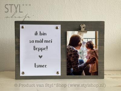 Fotolijst Mal mei beppe Frysk