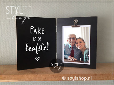 Fotolijst pake Fries heitedei vaderdag Frysk kado