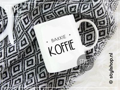 Mok bakkie koffie pleur kop koffie troost
