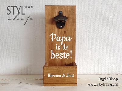 Bierbakje - Papa is de beste